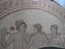 mosaic of the Three Graces